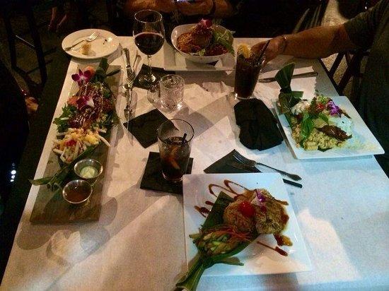 Blaze Bistro: Our dinners