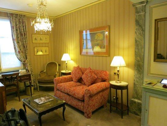 Hotel Duc de Saint Simon : Sitting Area