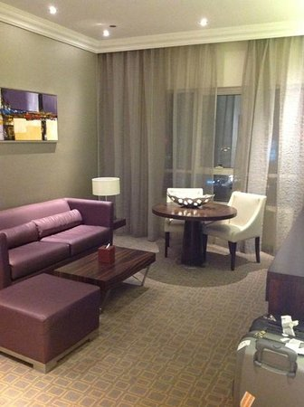 Auris Plaza Hotel: Living Room