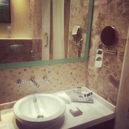 Coral Dubai Al Barsha Hotel: Bathroom