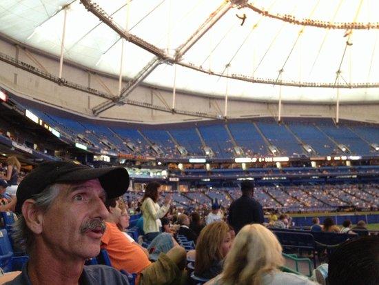 Tropicana Field : Crowd