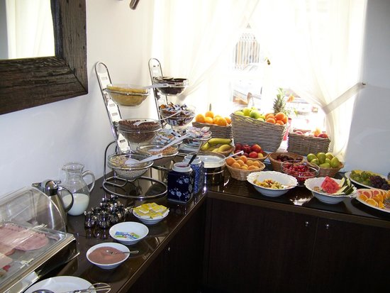 Hotel Residence Agnes: buffet du petit déjeuner