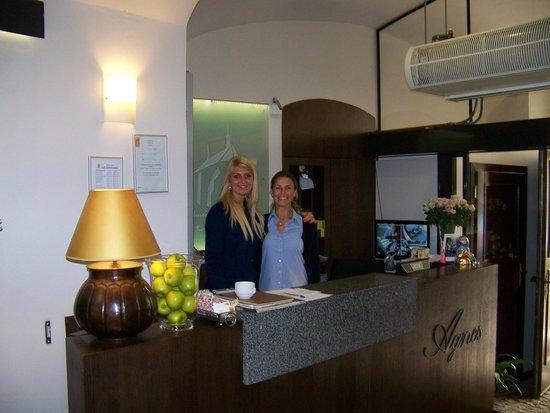 Hotel Residence Agnes: la réception