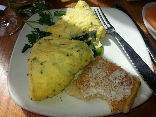 Americano Restaurant and Bar: Spinach omelette