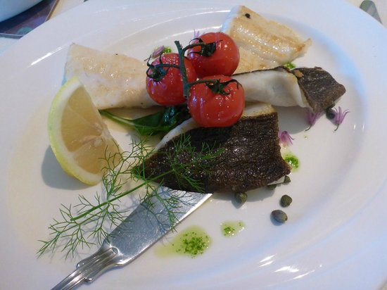 Bervie: Exeptional food... fresh fish perfectly served