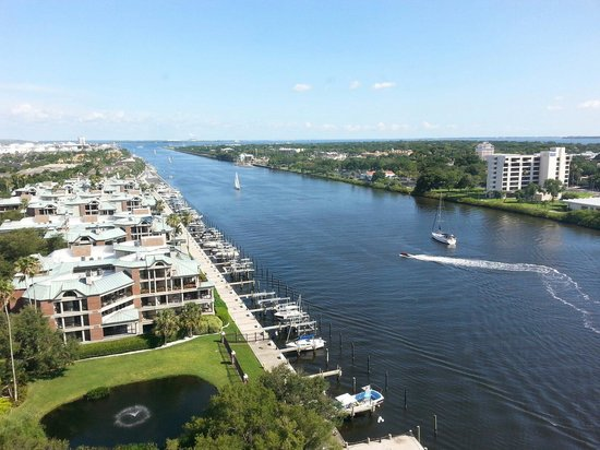 The Westin Tampa Waterside: View from room 1228