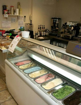 Coffee 'n' Cream: We sell Hartleys ice cream in a variety of flavours