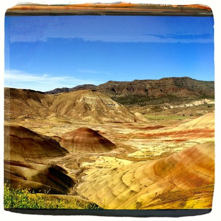 John Day Fossil Beds National Monument: The Painted Hill