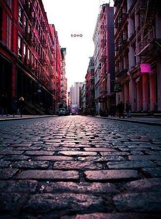 Gotham Walking Tours of New York City: Black Belgian Block Streets of Soho