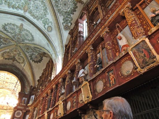 Santuario Beata Vergine Maria delle Grazie : Inside view
