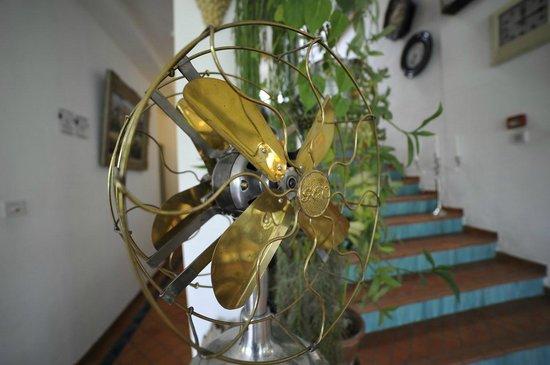 La Ferme Rose : Doppelpropeller Ventilator