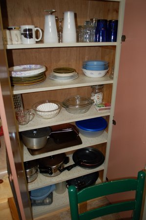 Lapland Lake Nordic Vacation Center: Kitchen items supplied