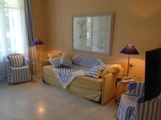 Ville Lago Lugano: Wohn-/Schlafzimmer
