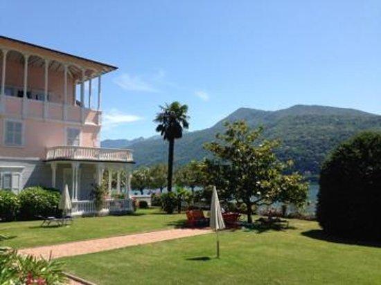Ville Lago Lugano: Ausblick Terrasse