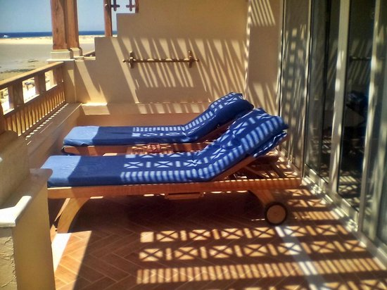 Sheraton Soma Bay Resort : балкон номера