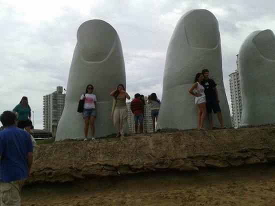Los Dedos Playa Brava: Los Dedos...