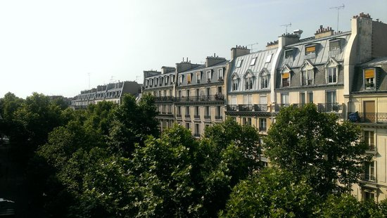 Grand Hotel Francais : Our view from our room