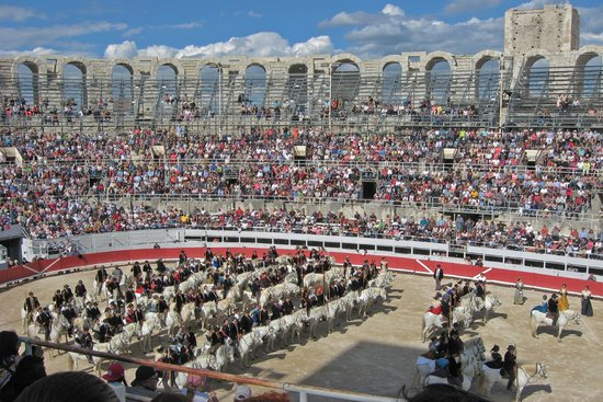 Amphitheatre (les Arenes): Event in the Arles Roman Amphitheater