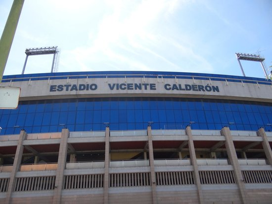 Hotel Puerta de Toledo: Estadio Vicente Calderon!!!