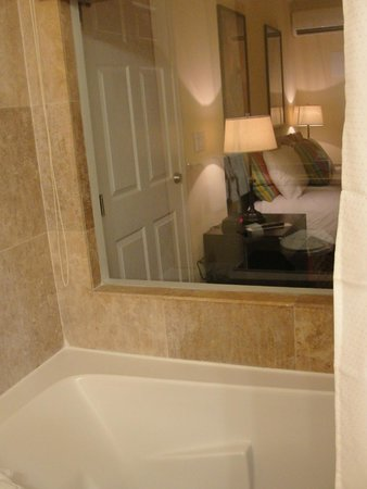 Lime Tree Bay Resort : Shower and shower window
