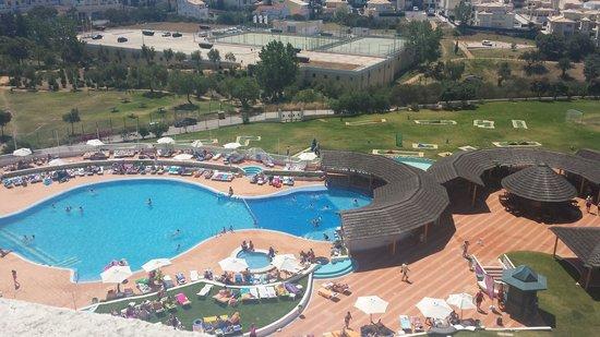 Hotel Paraiso de Albufeira: View from room 820