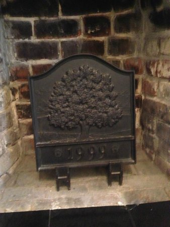 The Marshall House: Fireplace