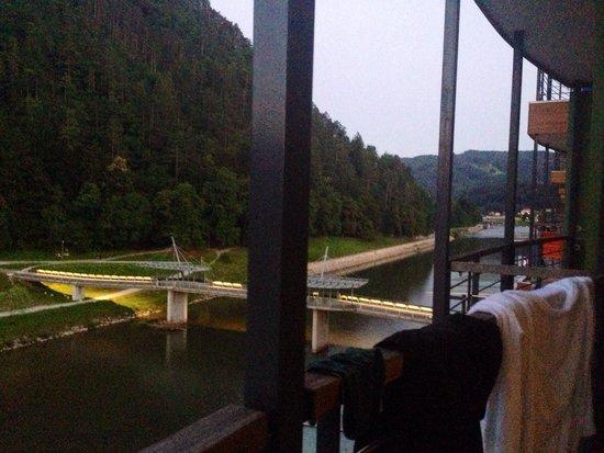 Thermana Park Lasko : River view, balcony