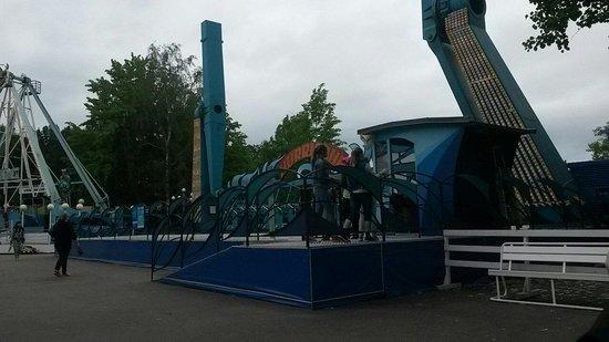 "Sarkanniemi Theme Park: ""Hurricane"""