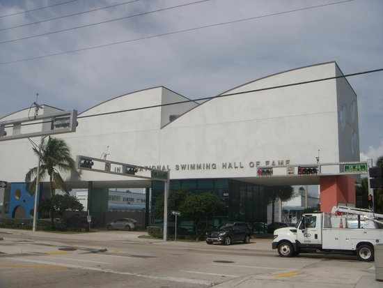 International Swimming Hall of Fame : Exterior facade