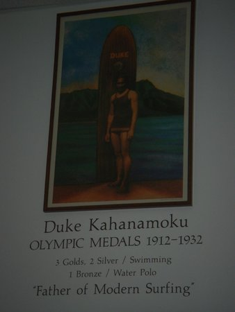 International Swimming Hall of Fame : Duke Kahanamoku exhibit