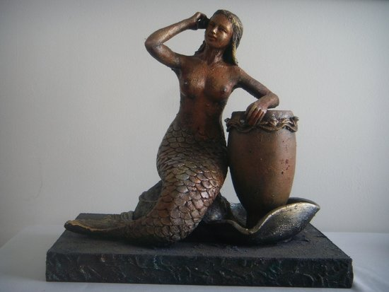 International Swimming Hall of Fame : Mermaid sculpture