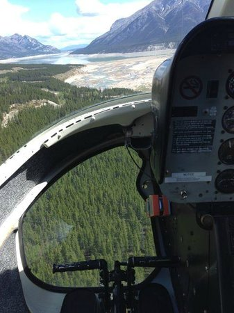 Rockies Heli Canada: The view from the front