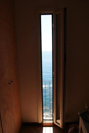 Alla Porta Rossa: Raggio di Luna - view from room