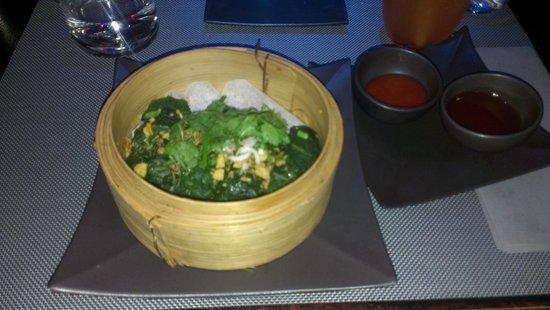 """Kambodgia: Raviolis laotiens de poulet fermier """"vapeur"""""""