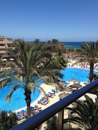 Hotel Elba Carlota : View from balcony