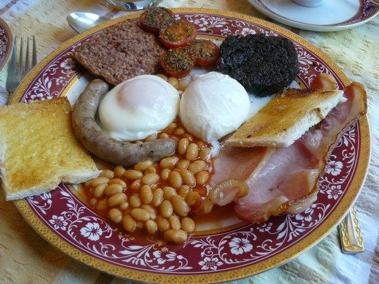 The Farm House B&B: Full scottish Breakfast