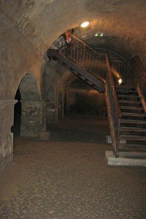 Entrance into the Cryptoportiques