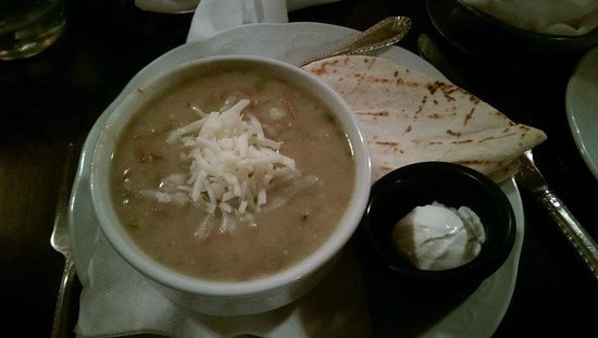 Buckhorn Saloon & Opera House: green chili soup