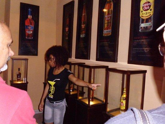Museo del Ron Havana Club : Salon del Ron