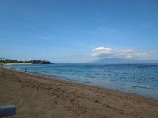 Ka'anapali Beach : View towards Black Rock