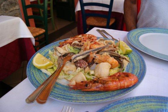 La Scogliera: Seafood