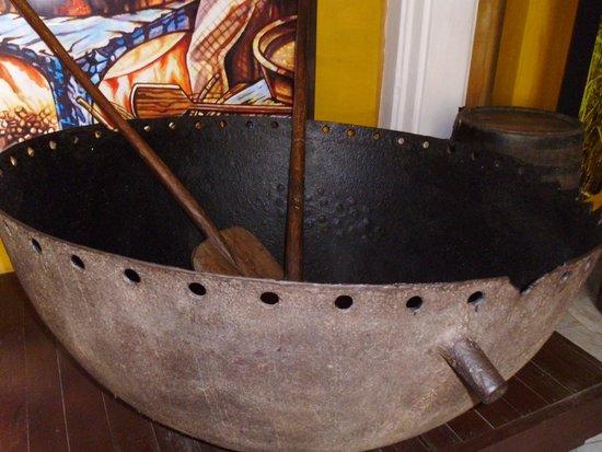 Museo del Ron Havana Club : Donde de ponia la melaza