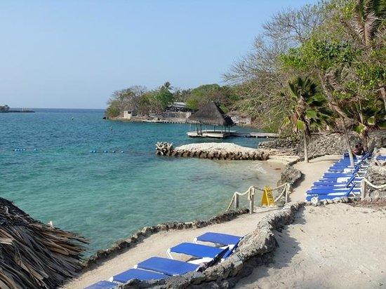 Praia do Hotel San Pedro de Majagua