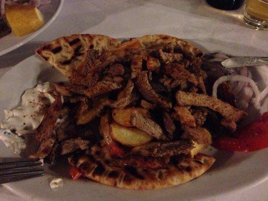 Kyano Beach Restaurant: Gyros