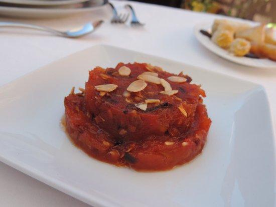 Riad Al Badia: La Table Al Badia - Sweet Tomatoes