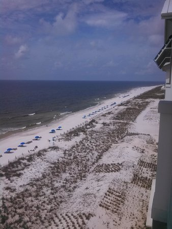Margaritaville Beach Hotel: View to the East from the 7th Floor