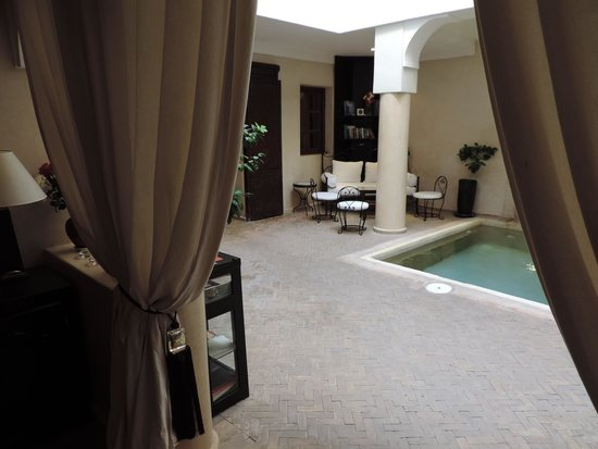 Riad Al Badia: Lobby & Lounge