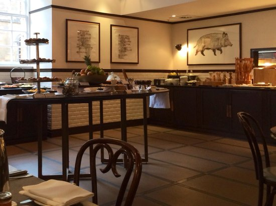 Waldorf Astoria Edinburgh - The Caledonian: Breakfast buffet