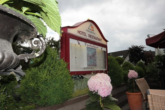 Romantik Hotel Fuchsbau: Terrasse