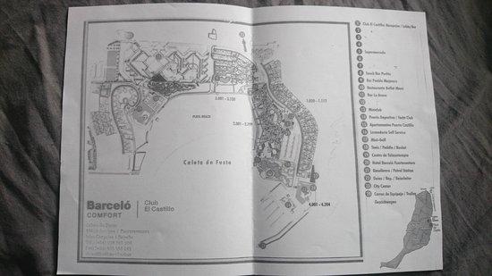 Barcelo Castillo Beach Resort: Resort room layout
